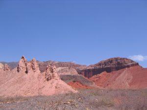 アルゼンチン 奇岩
