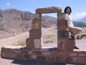 アルゼンチンの遺跡