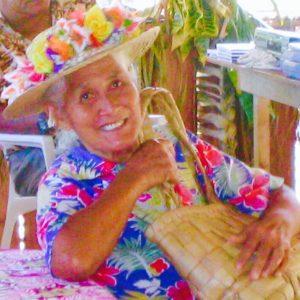 タヒチ ボラボラの女性